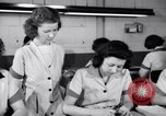 Image of Disabled American workers volunteer during World War 2 labor shortage Dayton Ohio USA, 1943, second 9 stock footage video 65675029531