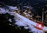 Image of USS Mount Olympus and USS Cacapon Atlantic Ocean, 1950, second 3 stock footage video 65675029537