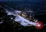 Image of USS Mount Olympus and USS Cacapon Atlantic Ocean, 1950, second 5 stock footage video 65675029537