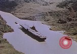 Image of USS Philippine Sea Panama Canal, 1946, second 4 stock footage video 65675029541