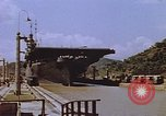 Image of USS Philippine Sea Panama Canal, 1946, second 8 stock footage video 65675029541