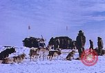 Image of landing vehicle tracked Antarctica, 1950, second 3 stock footage video 65675029548