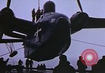 Image of Admiral Richard E Byrd's plane Antarctica, 1950, second 5 stock footage video 65675029552