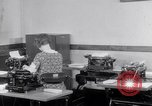Image of typewriters United States USA, 1931, second 9 stock footage video 65675029576