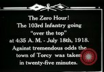 Image of American 103rd Infantry Torcy France, 1918, second 7 stock footage video 65675029596