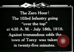 Image of American 103rd Infantry Torcy France, 1918, second 13 stock footage video 65675029596