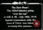 Image of American 103rd Infantry Torcy France, 1918, second 17 stock footage video 65675029596