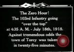Image of American 103rd Infantry Torcy France, 1918, second 18 stock footage video 65675029596