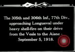 Image of 305th and 306th Infantry Longueval France, 1918, second 12 stock footage video 65675029597