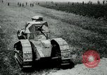 Image of British Mark IV tanks France, 1917, second 7 stock footage video 65675029604