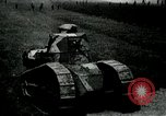 Image of British Mark IV tanks France, 1917, second 9 stock footage video 65675029604