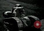 Image of British Mark IV tanks France, 1917, second 12 stock footage video 65675029604