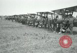 Image of British Airco DH-4s Bergues France, 1918, second 10 stock footage video 65675029606