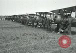 Image of British Airco DH-4s Bergues France, 1918, second 11 stock footage video 65675029606