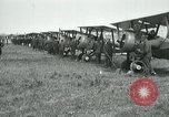 Image of British Airco DH-4s Bergues France, 1918, second 12 stock footage video 65675029606