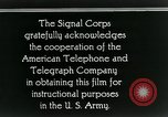 Image of primitive telephone system United States USA, 1928, second 12 stock footage video 65675029611