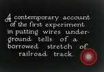 Image of underground telephone cables United States USA, 1928, second 3 stock footage video 65675029612