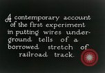 Image of underground telephone cables United States USA, 1928, second 4 stock footage video 65675029612