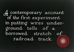 Image of underground telephone cables United States USA, 1928, second 5 stock footage video 65675029612