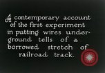 Image of underground telephone cables United States USA, 1928, second 6 stock footage video 65675029612