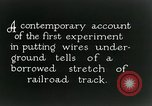 Image of underground telephone cables United States USA, 1928, second 12 stock footage video 65675029612