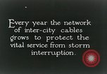Image of laying telephone lines United States USA, 1928, second 9 stock footage video 65675029613