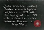 Image of Submarine telephone cable Cuba, 1928, second 1 stock footage video 65675029616