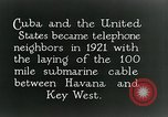 Image of Submarine telephone cable Cuba, 1928, second 3 stock footage video 65675029616