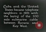 Image of Submarine telephone cable Cuba, 1928, second 4 stock footage video 65675029616