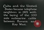 Image of Submarine telephone cable Cuba, 1928, second 5 stock footage video 65675029616