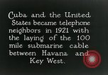 Image of Submarine telephone cable Cuba, 1928, second 6 stock footage video 65675029616
