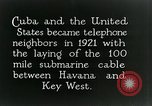 Image of Submarine telephone cable Cuba, 1928, second 7 stock footage video 65675029616