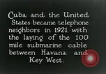 Image of Submarine telephone cable Cuba, 1928, second 8 stock footage video 65675029616