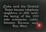 Image of Submarine telephone cable Cuba, 1928, second 9 stock footage video 65675029616