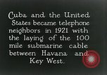 Image of Submarine telephone cable Cuba, 1928, second 10 stock footage video 65675029616