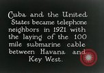 Image of Submarine telephone cable Cuba, 1928, second 11 stock footage video 65675029616