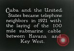 Image of Submarine telephone cable Cuba, 1928, second 12 stock footage video 65675029616