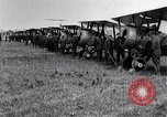 Image of British Airco DH-4s Bergues France, 1918, second 9 stock footage video 65675029630
