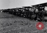 Image of British Airco DH-4s Bergues France, 1918, second 12 stock footage video 65675029630