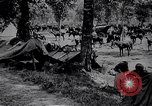 Image of Indian cavalry encamp France, 1918, second 9 stock footage video 65675029636