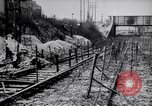 Image of digging trench France, 1916, second 4 stock footage video 65675029645