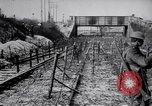 Image of digging trench France, 1916, second 8 stock footage video 65675029645