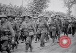 Image of Australian troops returning from front during Battle of Pozières France, 1916, second 12 stock footage video 65675029646