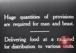 Image of food supplies France, 1917, second 1 stock footage video 65675029649
