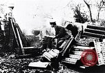 Image of German artillery firing France, 1918, second 5 stock footage video 65675029658