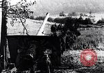 Image of German artillery firing France, 1918, second 9 stock footage video 65675029658