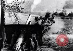 Image of German artillery firing France, 1918, second 10 stock footage video 65675029658