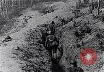 Image of Allies shell advancing German soldiers France, 1918, second 6 stock footage video 65675029659