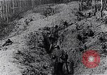 Image of Allies shell advancing German soldiers France, 1918, second 7 stock footage video 65675029659
