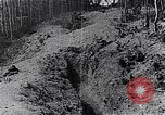 Image of Allies shell advancing German soldiers France, 1918, second 9 stock footage video 65675029659